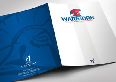 Warrior Athletics Pocket Folder