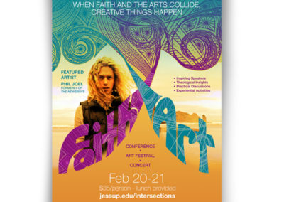 Faith and Art Poster